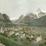 Bex, Canton de Vaud. Zürich chez R. Dikenman, peintre