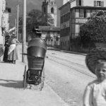 L'avenue de la Gare de Bex vers 1910