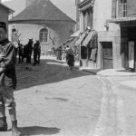 La rue Centrale prise depuis son croisement avec la rue du Signal vers 1910