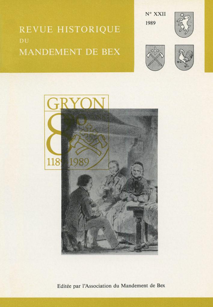 Revue du mandement de Bex_1989