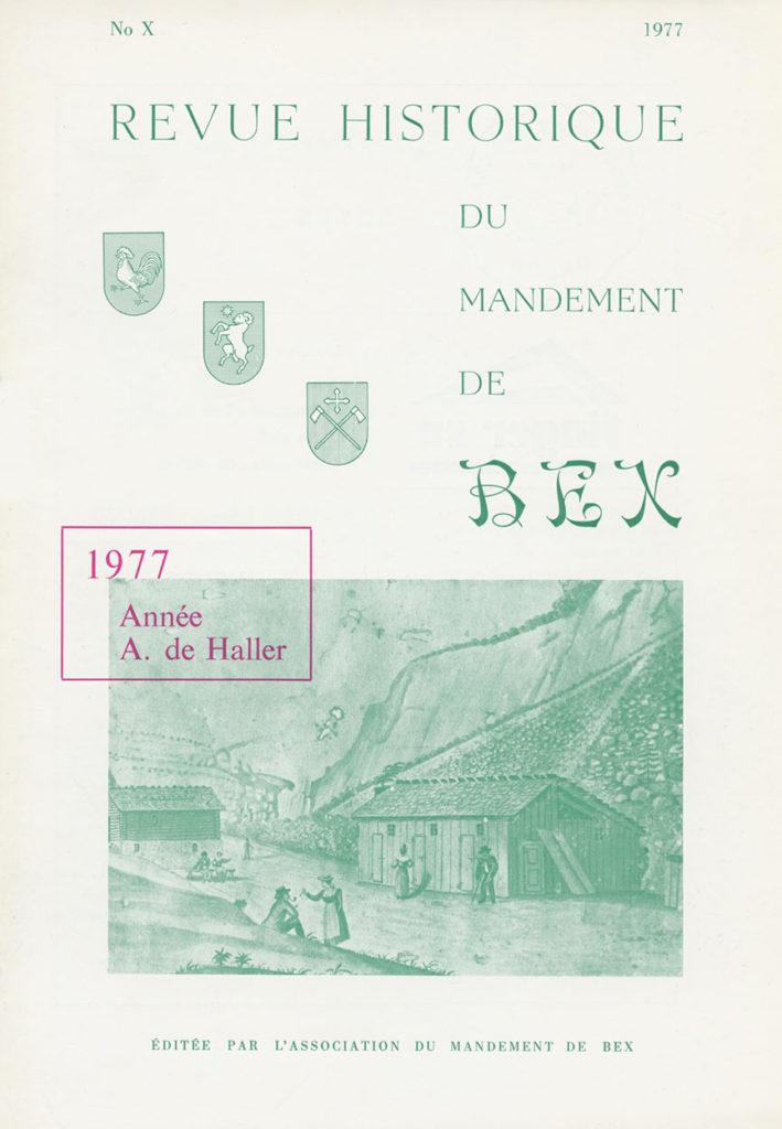 Revue du mandement de Bex_1977