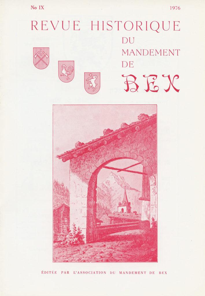 Revue du mandement de Bex_1976