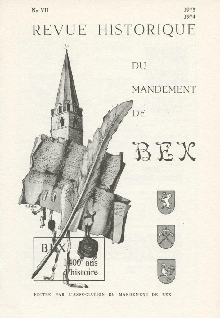 Revue du mandement de Bex_1974