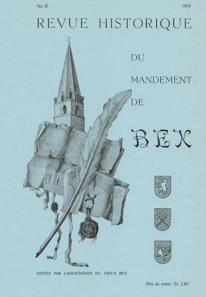 Revue du mandement de Bex_1968