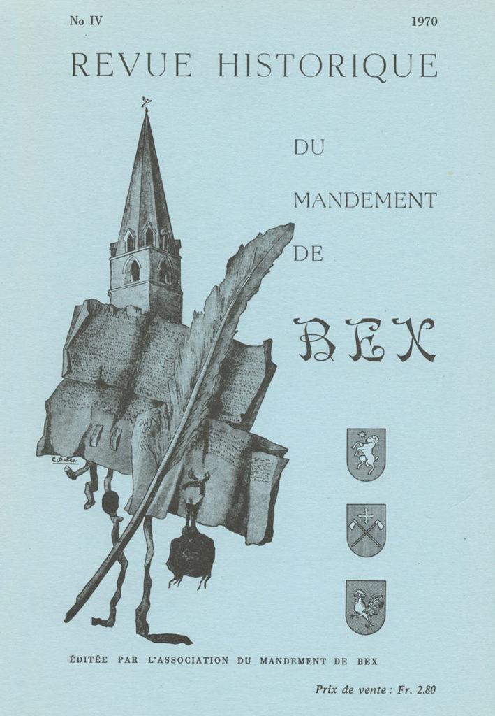 Revue du mandement de Bex_1970