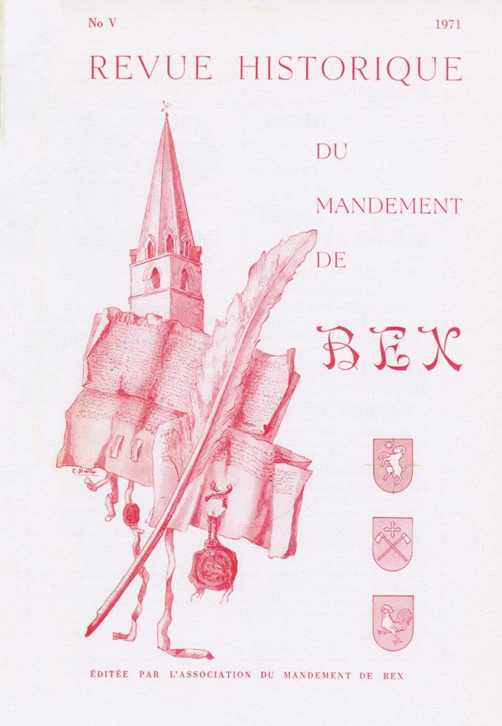 Revue du mandement de Bex_1971