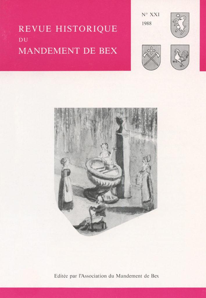 Revue du mandement de Bex_1988