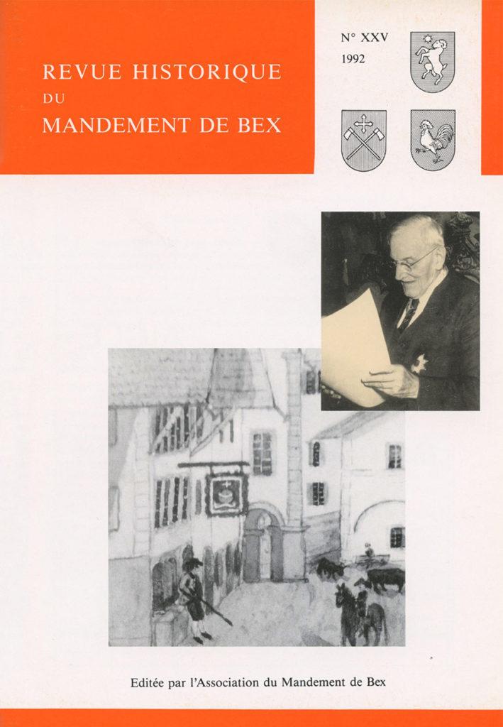 Revue du mandement de Bex_1992