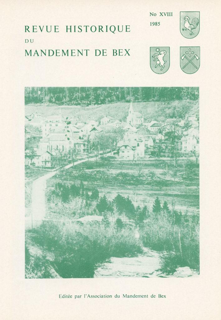 Revue du mandement de Bex_1985