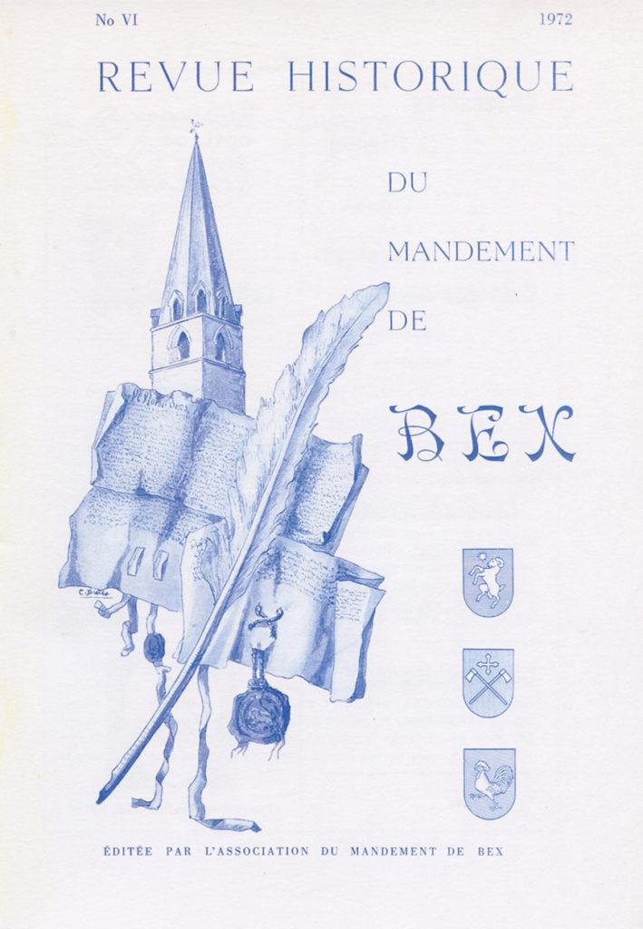 Revue du mandement de Bex_1972
