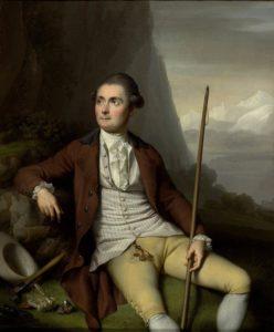 Portrait d'Horace-Bénédict de Saussure (1740-1799) par Jens Juel, 1778. Source : Bibliothèque de Genève