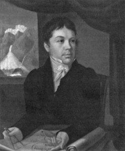 Ignace Venetz (1788-1859), ingénieur peint par Laurent Ritz vers 1815. Musée de la Majorie (Sion)