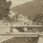 À Bex sur les ponts de l'Avançon. © Edition Guggenheim & Cie, Zürich