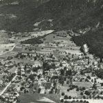 Vue aérienne de Lavey