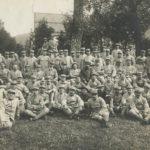 Le groupe des internés français séjournant à Bex de 1916 à 1918